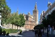 Sevilla-terrace Giralda