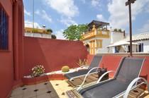 Terrace of our Holiday apartment in Santa Cruz quarter